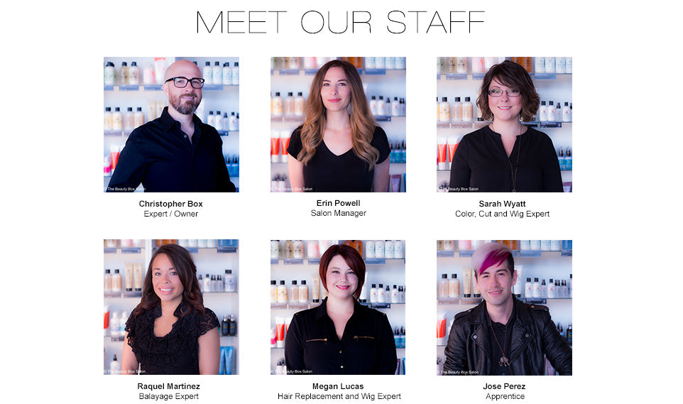 The Staff @ The Beauty Box Salon | Dallas, TX