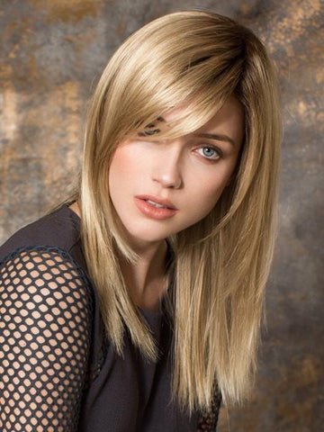 Round Face Layered Hair With Bangs Long Length 40