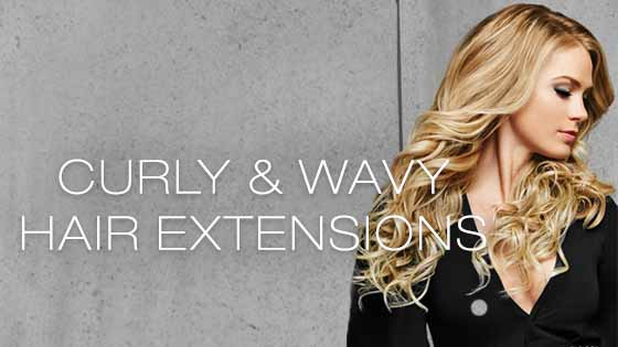 Curly & Wavy Hair Extensions