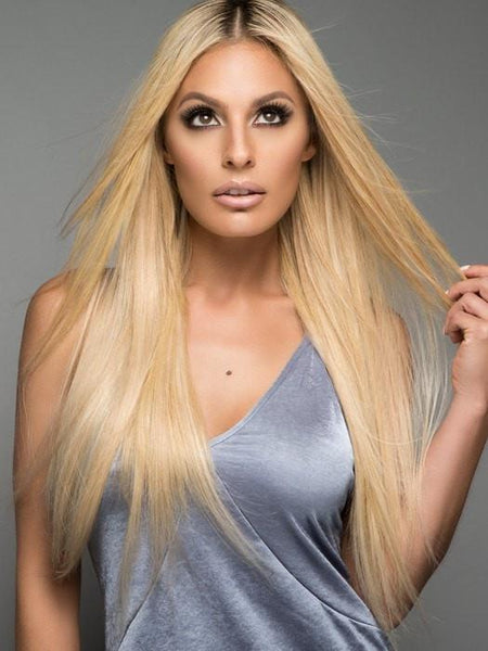 Long Blonde Human Hair Extensions