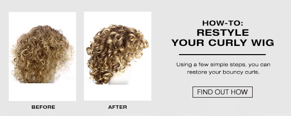 How To Restyle A Curly Wig
