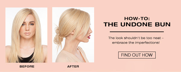 How To: The Undone Bun