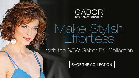 NEW Fall 2017 Wigs & Top Pieces by Gabor | Shop Now