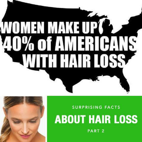 Surprising Facts About Hair Loss Part 2