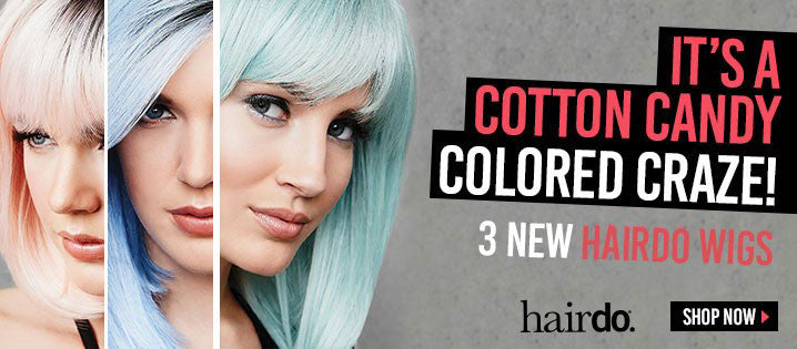 3 NEW Colored Wigs by HAIRDO