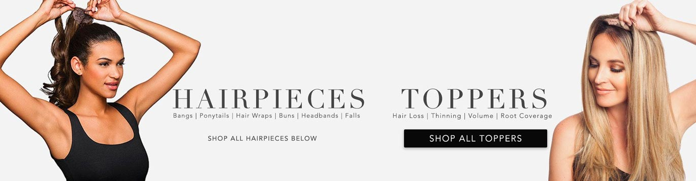 10ef3fb73b3 Hair Pieces & Toppers for Women and Men | Shop – Wigs.com