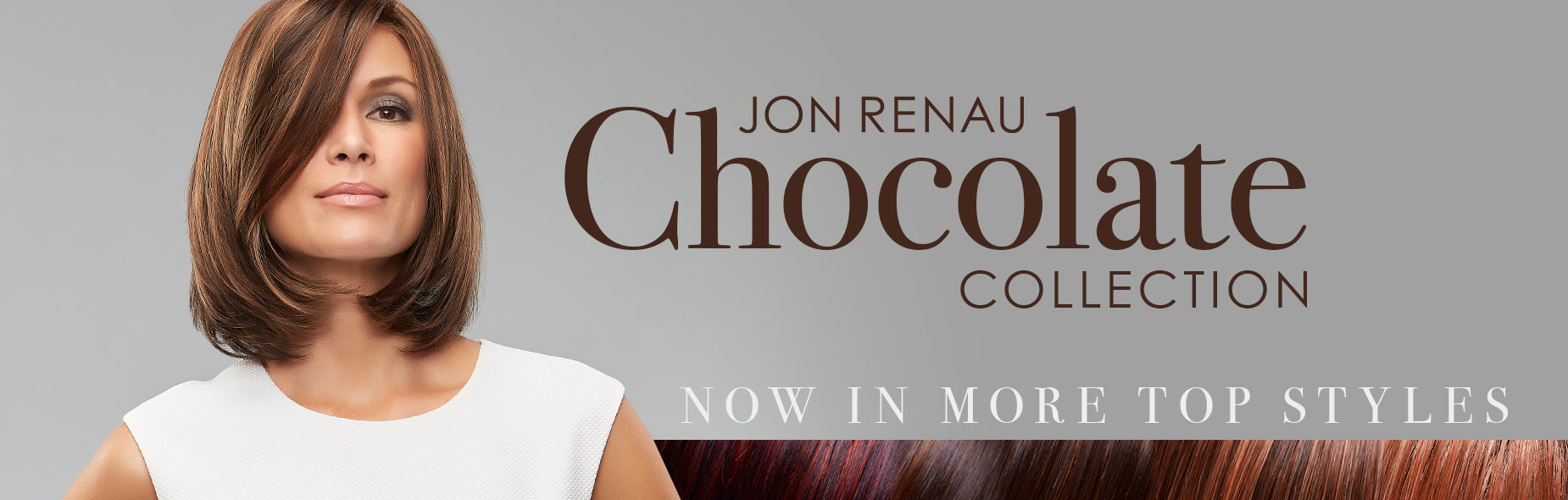 NEW Jon Renau Chocolate Colors: Salted Caramel, Toffee Truffle, Midnight Cocoa & Chocolate Cherry