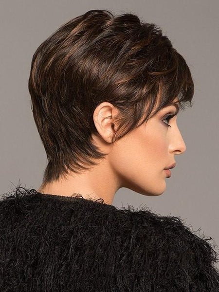 Short Brown Wig by Jon Renau | Pixie Wig