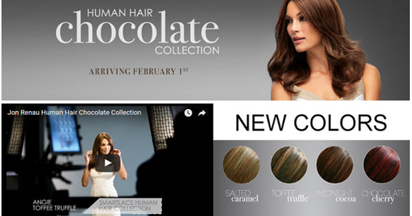 Now Available: The Human Hair Chocolate Color Collection by Jon Renau