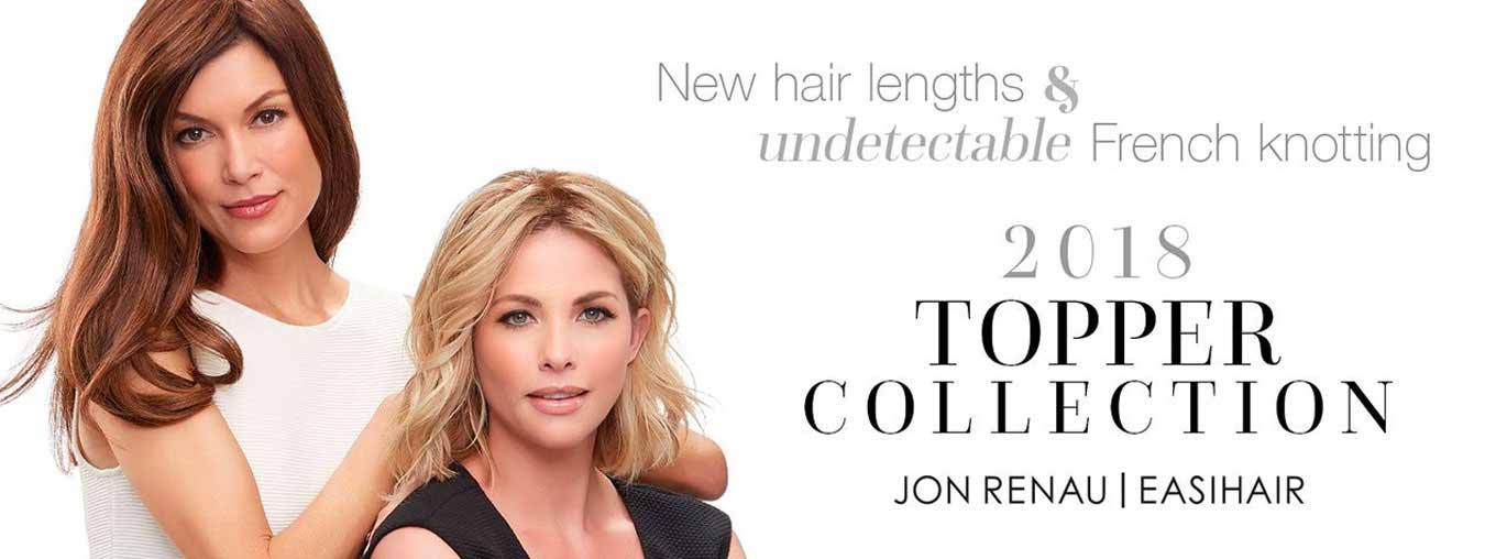 2018 Hair Topper Collection by Jon Renau | easihair