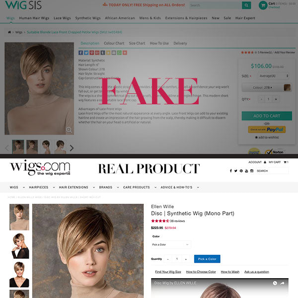 Disc by Ellen Wille - BEWARE of Knockoffs! Real VS Fake