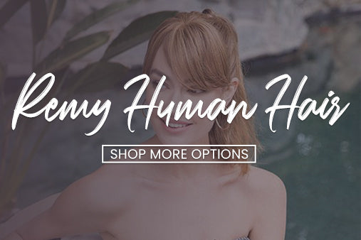 Remy Human Hair Toppers