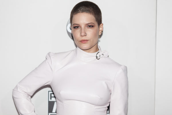 Halsey Shaved Head