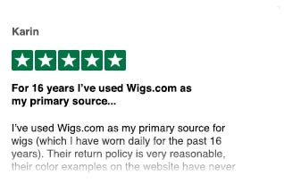 Wigs.com | Reviews