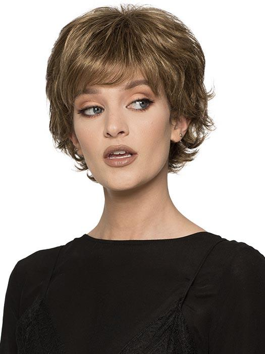 CONNIE by WIG PRO in 10/16 Medium Golden Brown Blended with Dark Ash Blonde
