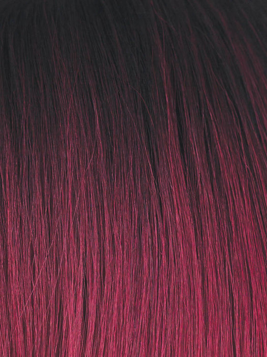 PLUM DANDY | Blend of Burgundy and Subtle Plum with Dark Brown Roots