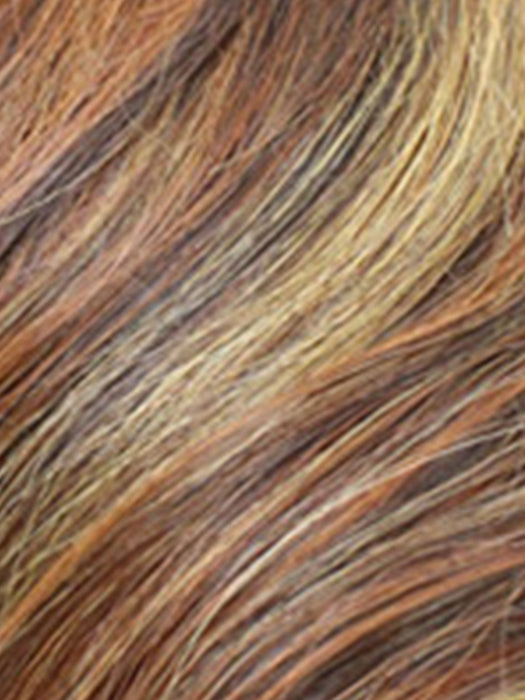 WILD FIRE | Strawberry Blonde, Russet, and Medium Auburn