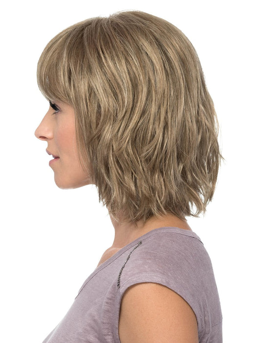 Designed with a mono crown, Hunter's bangs and distinctive waves bring a modern flair to the classic bob style