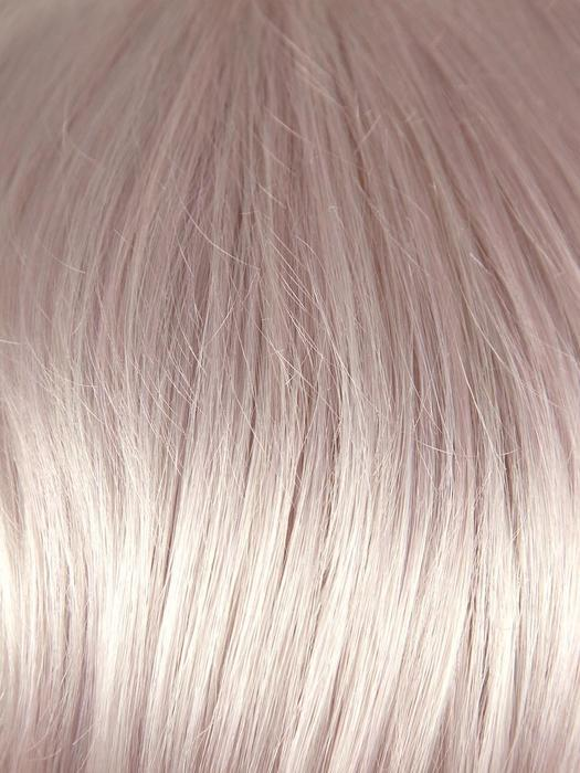 PASTEL-PINK | Cool silver blonde front and base with subtle whisper pink highlights