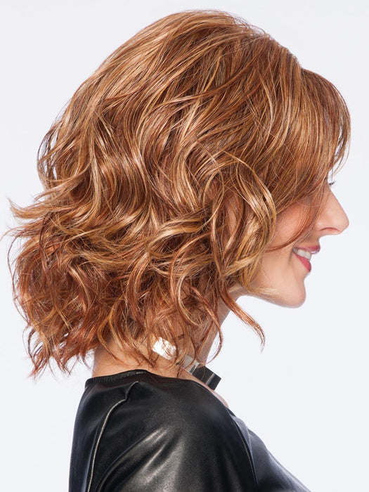The versatile TOUSLED BOB Wig by Hairdo is the ideal way for any woman to change her look on a whim or handle a bad hair day.