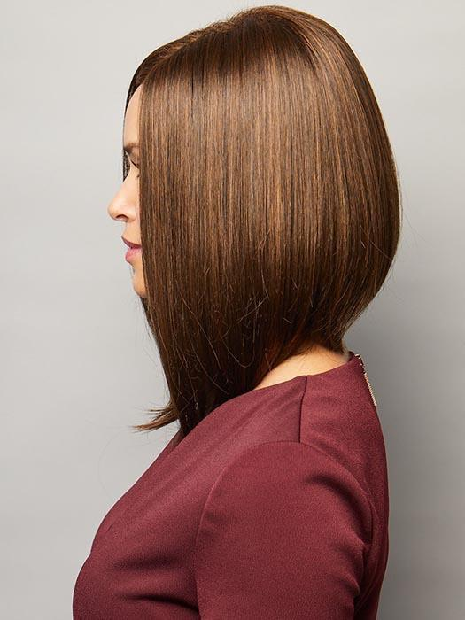 Taylor Wig by Noriko is a face-framing, long bob for a sophisticated look