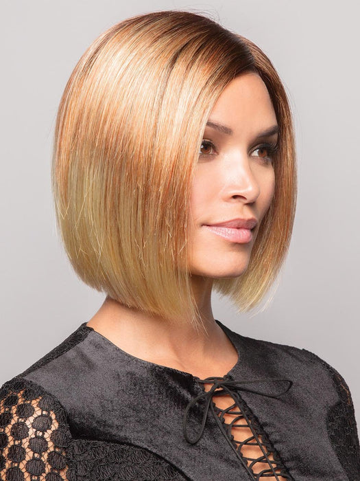The Kai Wig by Rene of Paris is a short, straight bob style for sleek sophistication