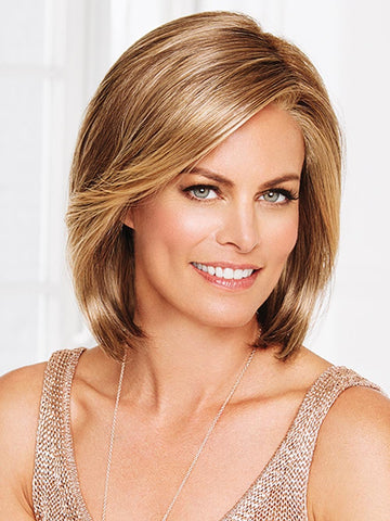 Timeless Beauty Wig by Gabor is an elegant shoulder-length bob with a long