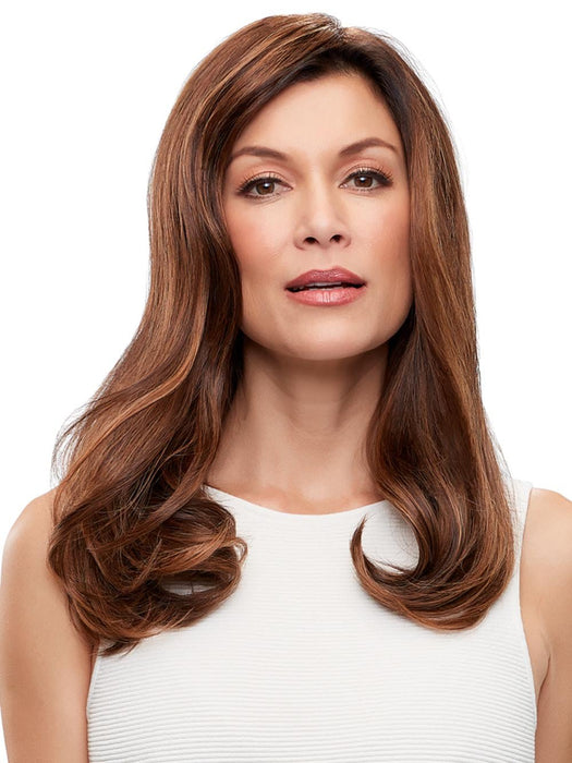 "TOP FORM FRENCH 18"" Remy Human Hair by EASIHAIR in FS6/30/27 TOFFEE TRUFFLE 