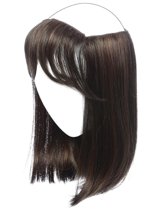 Detachable Bang: changes the look and adds coverage at the front