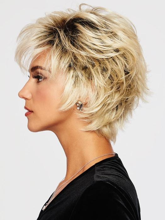 "This ""shake and go"" style can be styled soft and layered out of the box, or messy and modern using the Shaping Cream"