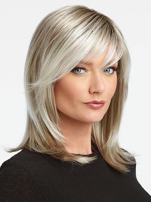 WATCH ME WOW by RAQUEL WELCH in SS23 Vanilla | Cool Platinum Blonde with Almost White Highlights and Dark Roots