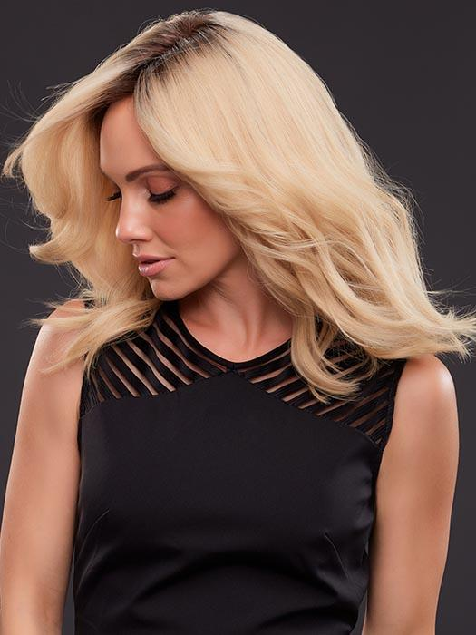 SmartLace™ Front – Virtually undetectable sheer lace front that gives you the option of off-the-face