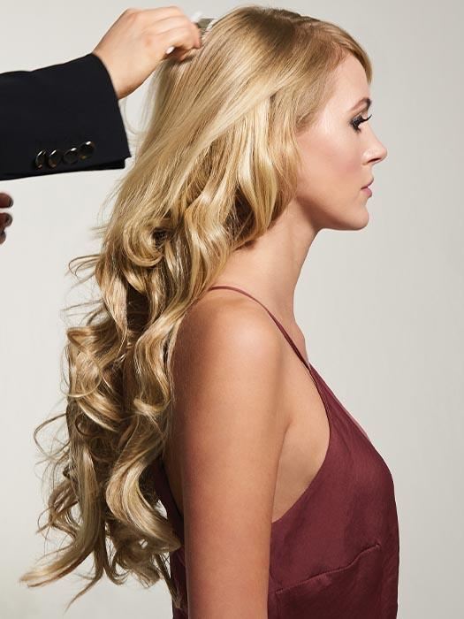 Blends seamlessly with your hair