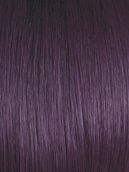 MIDNIGHT IRIS | Blend of Darkest Brown and Dark Violet with Black Roots