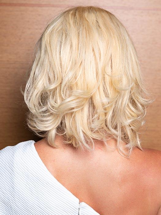 PLF008 by LOUIS FERRE in  LIGHT BLONDE | Light Blonde (This piece has been styled and curled)