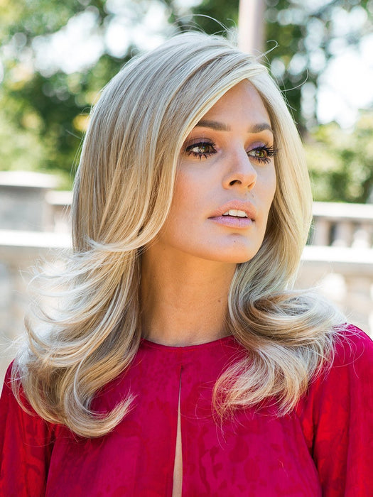 Love Love Love Long Wig by Raquel Welch is for the woman who craves a longer length but seeks a softer, more sophisticated look.