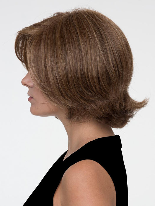 Made with our exclusive Envyhair heat-friendly fiber blend and constructed from a Mono Top with wefted sides and back