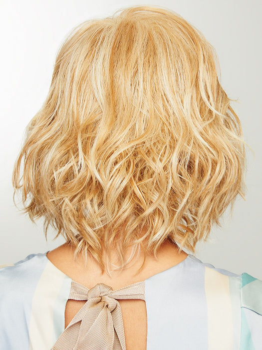 Color shown: Medium Blonde | Golden blonde or dark blonde with salon highlights