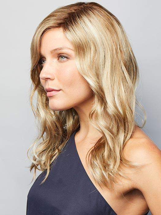 Choose between more tousled waves or more defined waves. With a monofilament part, you can make this style your very own.