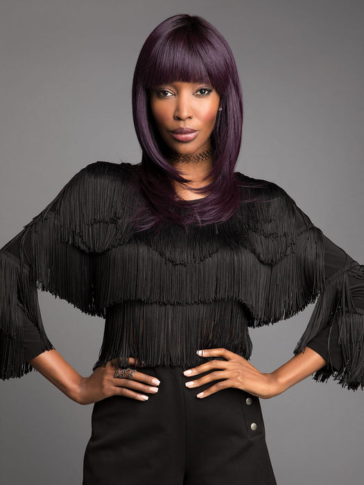 The Spellbound Synthetic Wig by Revlon Bold is a beautifully long layered style