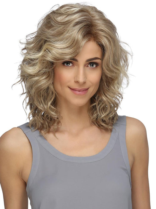 FINN by ESTETICA in RH1488 | Dark Blonde w/Lightest Blonde Highlights