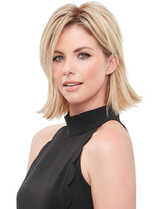 "easiPart XL 8"" by EasiHair lets you kick it up a notch with this one-piece volumizer, which adds instant thickness by clipping in over the part"