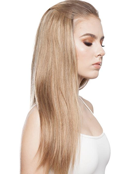 FALL-H by WIG PRO in SWEDISH-ALMOND | Honey Blonde Blended with Medium Blonde