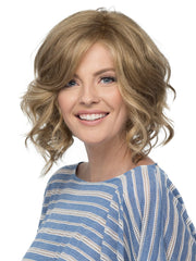AUTUMN Wig by ESTETICA in R14/26H | Dark Blonde w/Golden Blonde Highlights