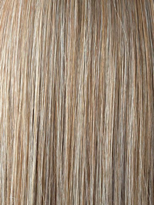 Spring Honey-R | Medium Brown rooted, Honey Blonde and Gold Platinum Blonde 50/50 blen