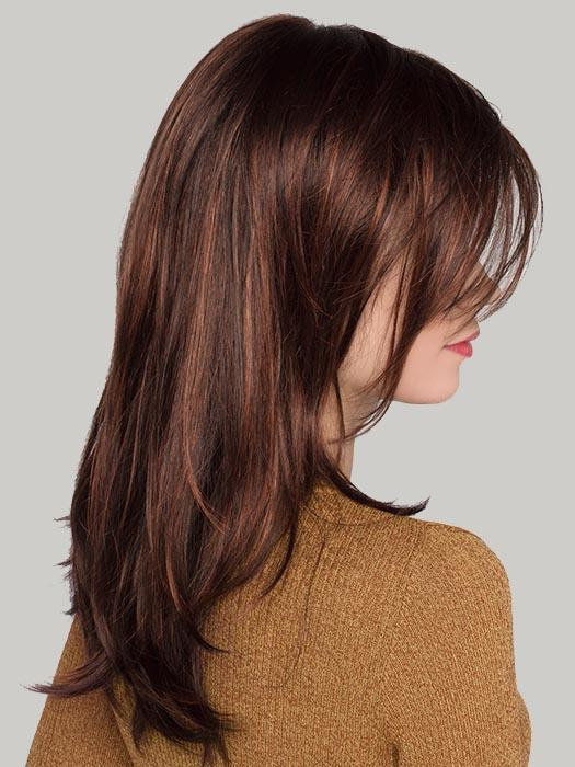 VOGUE by ELLEN WILLE in DARK AUBURN MIX | Dark Auburn, Bright Copper Red, and Dark Brown Blend (Discontinued Color)