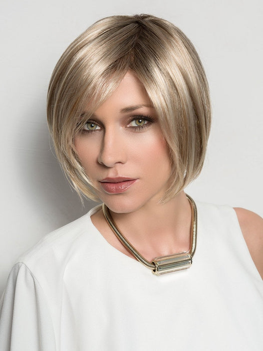 JUST NATURE Hair Topper by ELLEN WILLE in CHAMPAGNE MIX | Light Beige Blonde,  Medium Honey Blonde, and Platinum Blonde Blend
