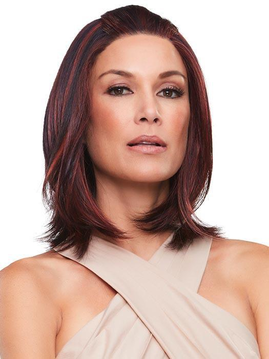 The SmartLace front and monofilament top mimic the look of naturally growing hair