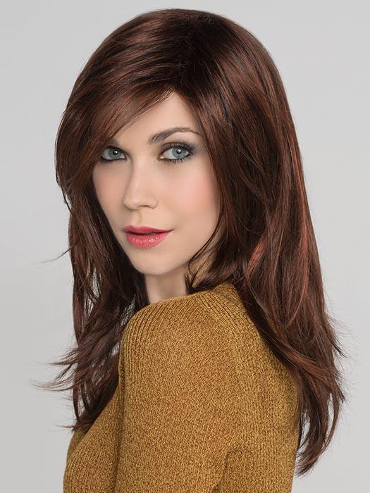 VOGUE by ELLEN WILLE in AUBURN-MIX | Dark Auburn, Bright Copper Red, and Warm Medium Brown blend