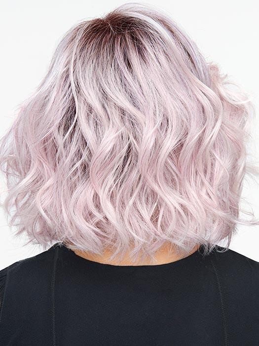 ICED-LAVENDER | Light Lavender Tones with a Rooted Top and Light Purple Hues Lavender Highlights